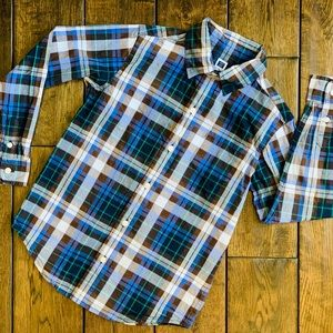 Janie and Jack Boys' Button-Down Shirt
